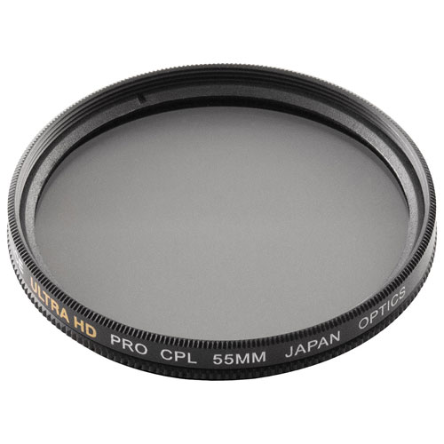 Bower 55mm Double-Edged Circular Polarizing Filter (FMC55CPL)