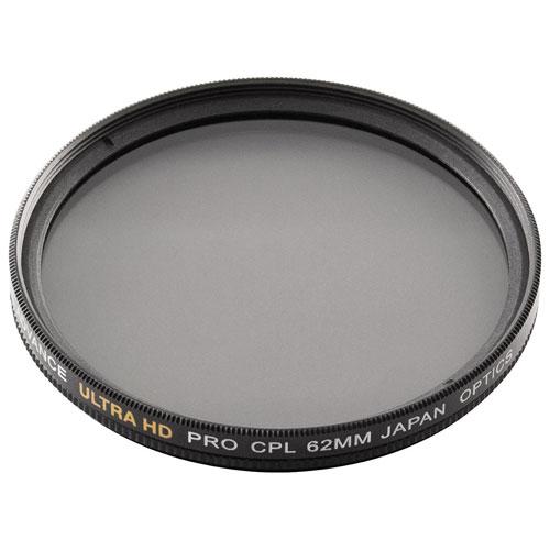 Filtre polarisant circulaire de 62 mm à double bord de Bower (FMC62CPL)