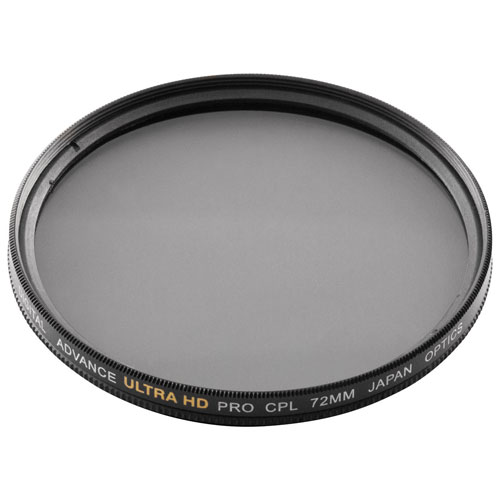 Filtre polarisant circulaire de 67 mm à double bord de Bower (FMC72CPL)