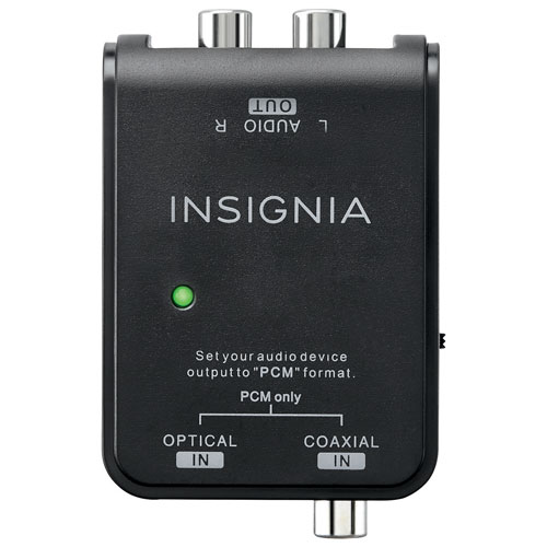 Insignia 091m 3 Ft Digital To Analog Audio Converter Cable Ns Rhbestbuyca: Digital Audio Output At Gmaili.net