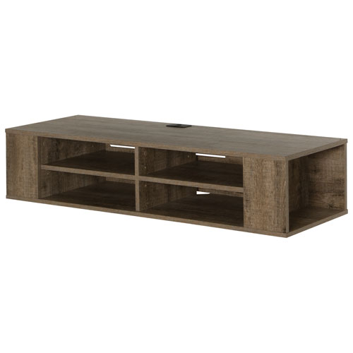 "South Shore 50"" TV Console Wall Mount - Weathered Oak"