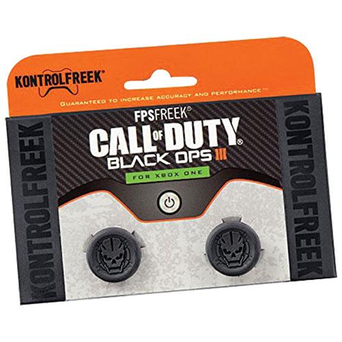 FPS Freek Call of Duty de KontrolFreek : Embouts Black Ops III pour Xbox One - Noir