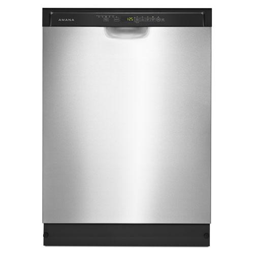 Lave-vaisselle 24 po 50 dB d'Amana avec cuve en acier inoxydable (ADB1700ADS) - Acier inoxydable