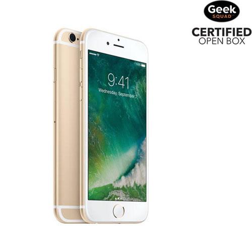 iPhone 6s de 16 Go d'Apple - Doré - Carte SIM verrouillée par fournisseur - Boîte ouverte