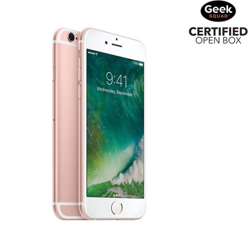 Apple iPhone 6s 64GB Smartphone - Rose Gold - Carrier SIM Locked - Open Box