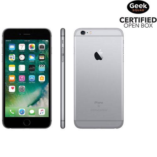 iPhone 6s Plus 16 Go d'Apple - Gris cosmique - Carte SIM verrouillée par fournisseur - Boîte ouverte