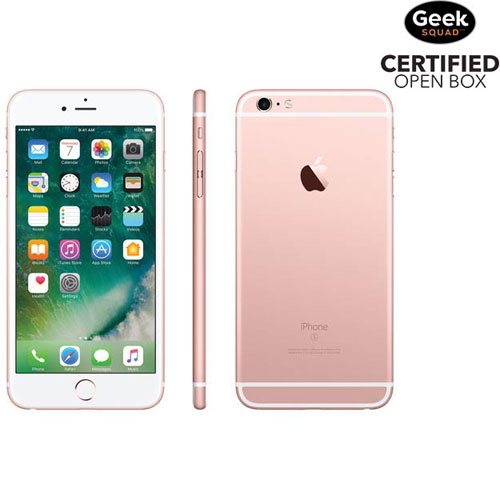 iPhone 6s Plus de 16 Go d'Apple - Rose doré - Carte SIM verrouillée par fournisseur - Boîte ouverte