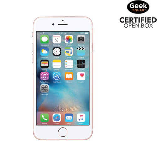 Apple iPhone 6s 16GB Smartphone - Rose Gold - Carrier SIM Locked - Open Box