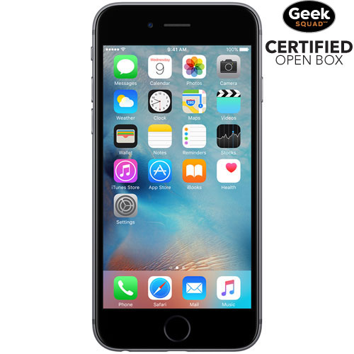 Apple iPhone 6s 16GB Smartphone - Space Grey - Carrier SIM Locked - Open Box