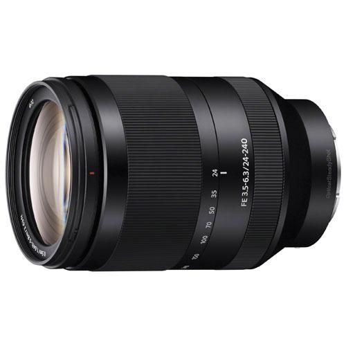 Objectif zoom FE 24-240 mm f/3,5-6,3 OSS de Sony