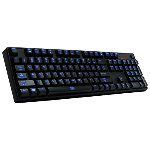 TT ESports POSEIDON Z RGB Blue Switch USB Gaming Keyboard (KB-PZR-KLBRUS-06) - Blue