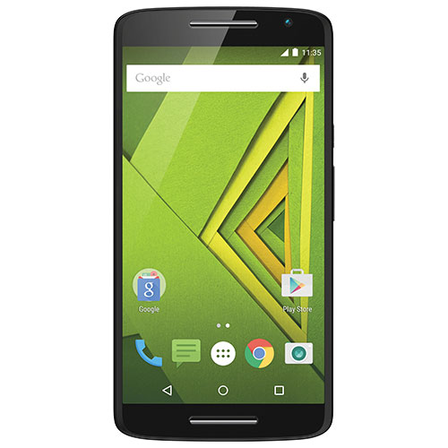Rogers Moto X Play 16GB Smartphone - Black - 2 Year Agreement