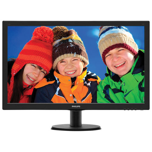 "Philips 27"" 1ms GTG TN LED monitor (273V5LHSB) - Black"