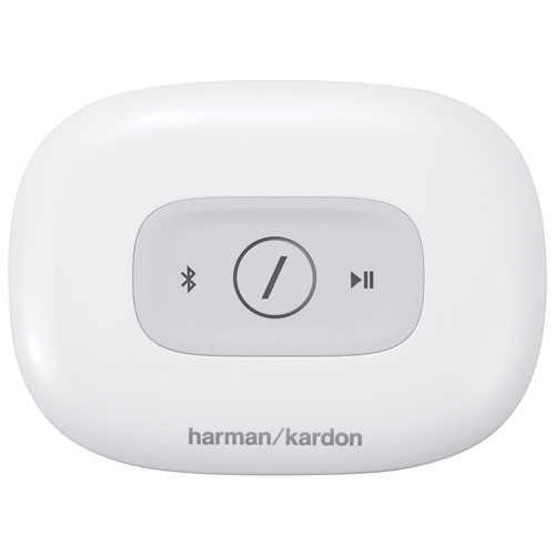 Harman Kardon Adapt HD Wireless Audio Adapter (ADAPTWH) - White