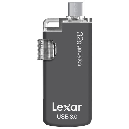 Lexar JumpDrive M20C 32GB USB 3.0 Type-C Flash Drive