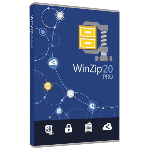 WinZip 20 Pro de Corel (PC)