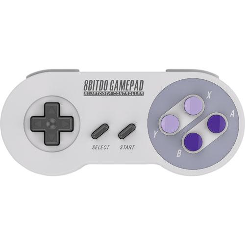Manette de jeu Bluetooth SNES30 de 8Bitdo