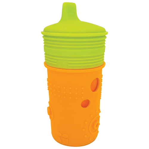 Silikids 8oz Silicone Sippy Cup (SK108)   Orange/Green : Baby Dishes, Cups  U0026 Utensils   Best Buy Canada