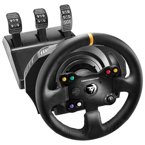 Volant de course TX Leather Edition de Thrustmaster pour Xbox One