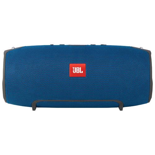 Haut-parleur sans fil Bluetooth XTREME de JBL résistant aux éclaboussures - Bleu