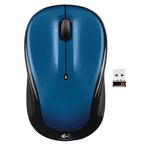 Logitech M325 Wireless Optical Mouse - Blue