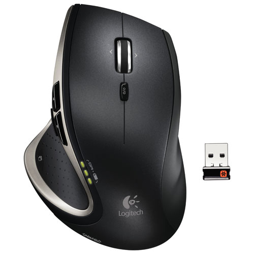 Logitech MX Performance Wireless Laser Mouse - Black