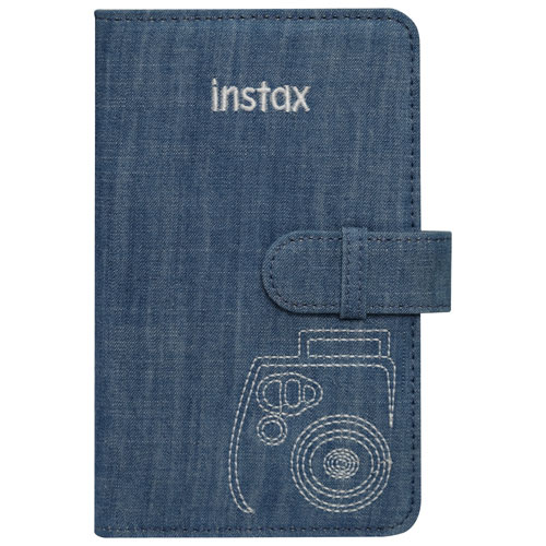 Fujifilm Instax Mini 8 Photo Album - Denim