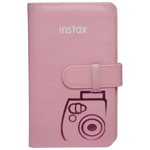 Album photo pour Instax Mini 8 de Fujifilm - Rose