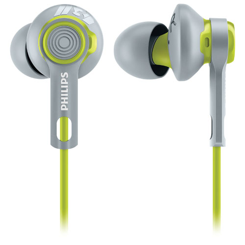 Philips ActionFit In-Ear Sound Isolating Sport Headphones - Green/Grey
