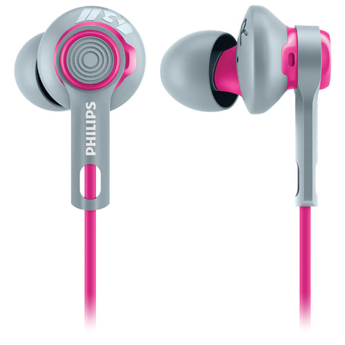Philips ActionFit In-Ear Sound Isolating Sport Headphones - Pink