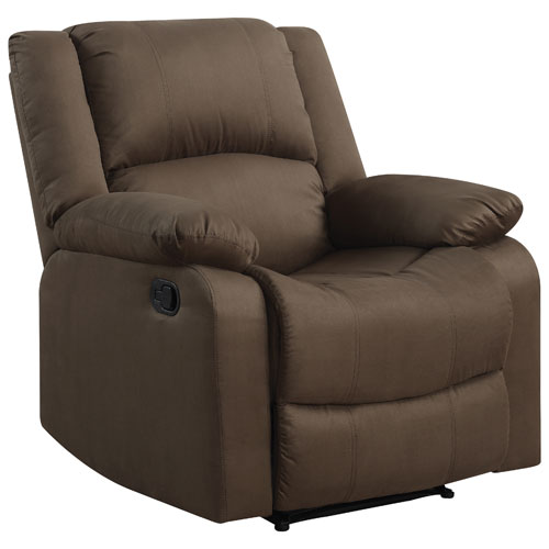 Warren Contemporary Micro Suede Recliner Chair - Chocolate  Recliners - Best Buy Canada  sc 1 st  Best Buy Canada & Warren Contemporary Micro Suede Recliner Chair - Chocolate ... islam-shia.org
