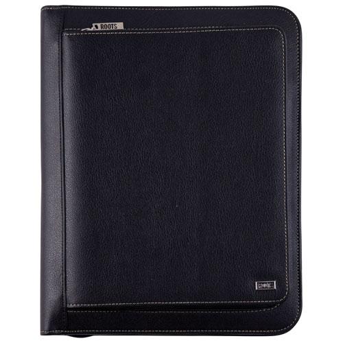 Roots Padfolio & Tablet Holder - Black