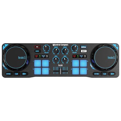 Hercules Compact DJ Controller