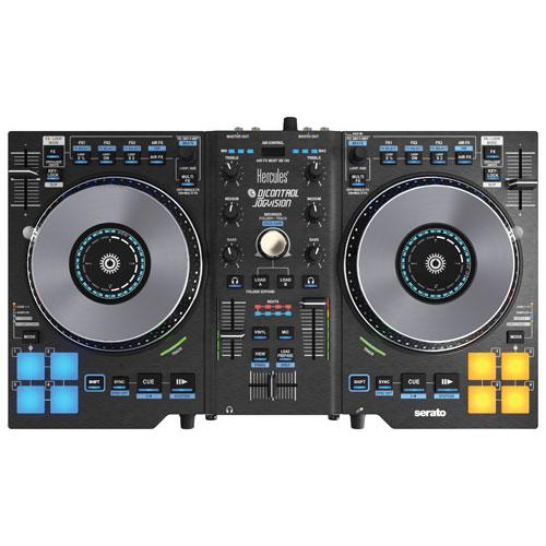 Contrôleur de DJ Jogvision d'Hercules
