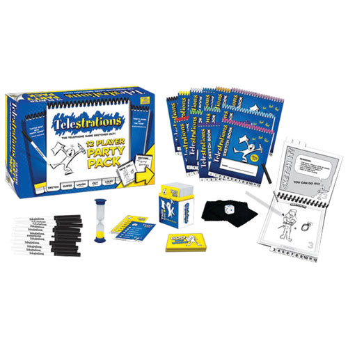 drawing game telestrations Telestrations 12 Player Party Pack English
