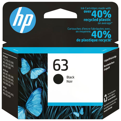 HP 63 Black Ink (F6U62AN#140)