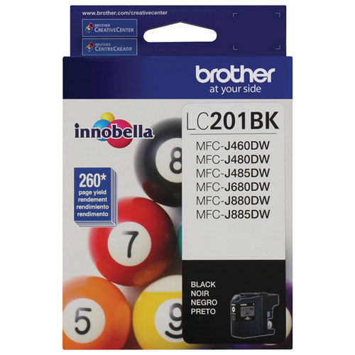 Brother Innobella Black Ink (LC201BKS)