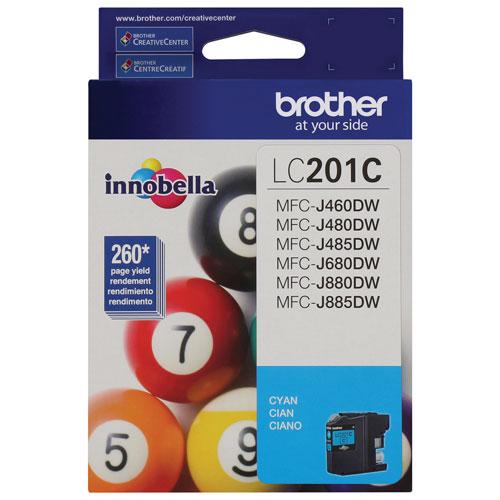 Brother Innobella Cyan Ink (LC201CS)