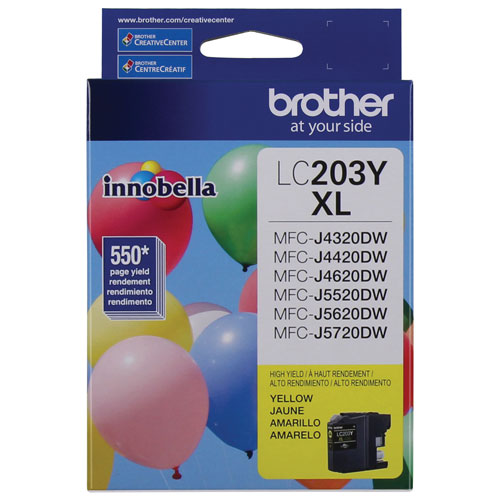 Brother Innobella Yellow Ink (LC203YS)