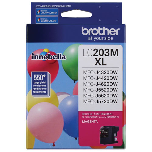 Brother Innobella High Yield Magenta Ink (LC203MS)