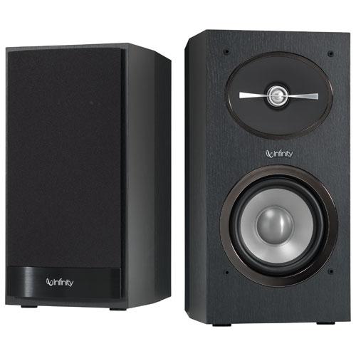 Infinity R152BK 125-Watt Bookshelf Speaker - Black - Pair