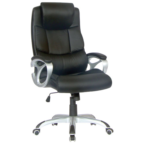 office chair on sale canada. tygerclaw leather manager chair - black (tyfc2102) : office chairs best buy canada on sale