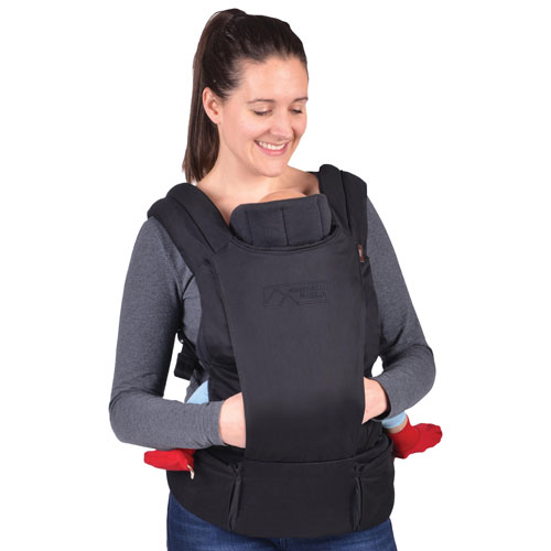 Mountain Buggy Juno Multi-Position Baby Carrier - Black
