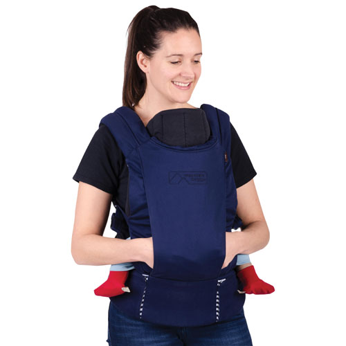 Mountain Buggy Juno Multi-Position Baby Carrier - Blue Nautical