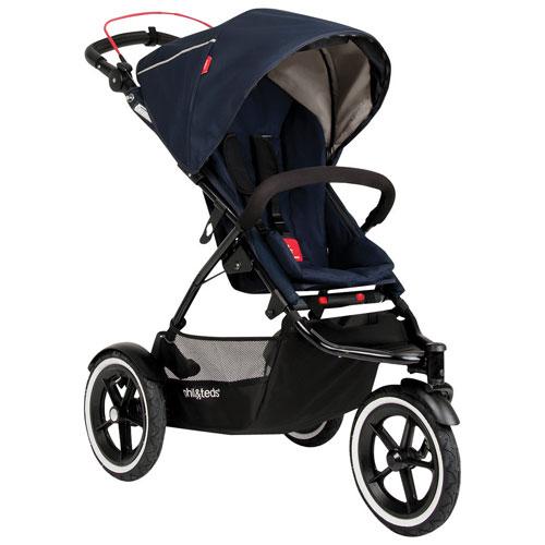 phil&teds Sport V5 Stroller - Midnight Blue