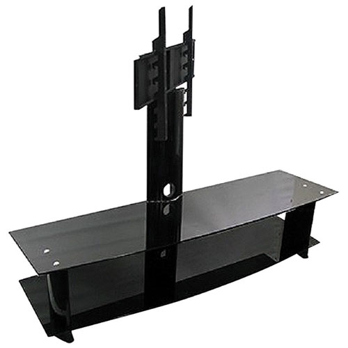 "TygerClaw TV Stand with Integrated Mount for TVs Up To 50"" (LCD8006BLK)"