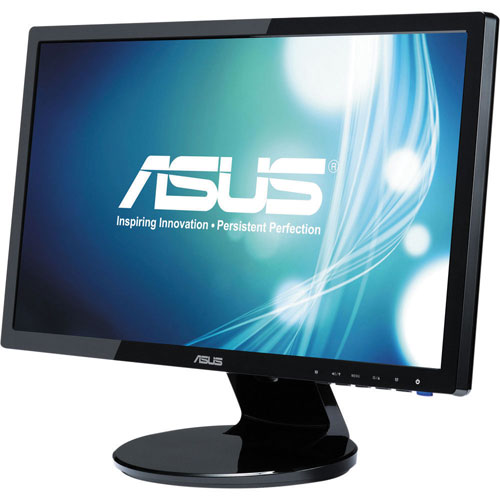 """ASUS 19"""" 5ms GTG LED Monitor (VE198T) - Black"""