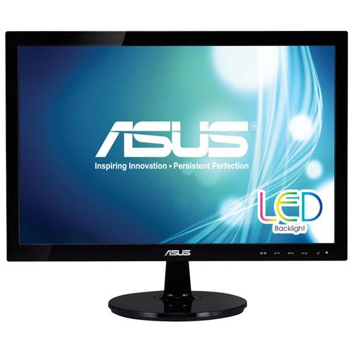"""ASUS 18.5"""" 5ms GTG LED Monitor (VS197T-P) - Black"""