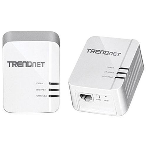 Trousse d'adaptateurs Powerline 1200 AV2 de TRENDnet (TPL-420E2K)