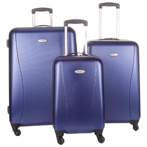 Samsonite Stamina NXT 3-Piece Hard Side 4-Wheeled Expandable Luggage Set -  Metallic Blue   Luggage Sets - Best Buy Canada 9c88ca947acea